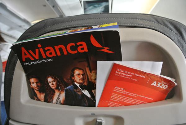 祕魯庫斯科飛利馬 Avianca airline 哥倫比亞航空畫上美好的逗點