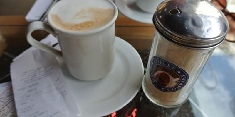 《南美》祕魯。阿雷基帕。Cusco coffee company。當地的星巴克!?
