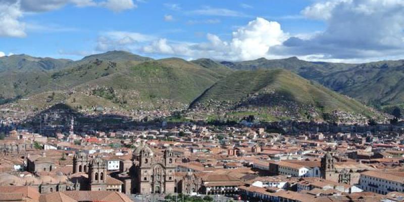 秘魯庫斯科。Plaza de Armas。武器廣場。放心這裡沒武器