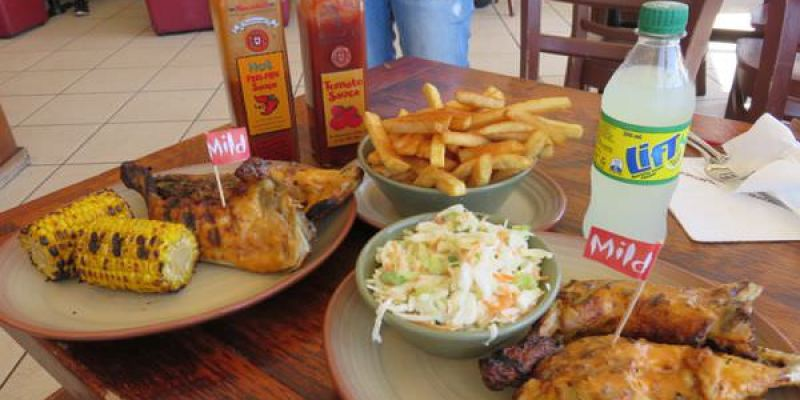 《澳洲》布里斯本 Nando's 來自非洲的葡式烤雞 peri-peri 會流淚