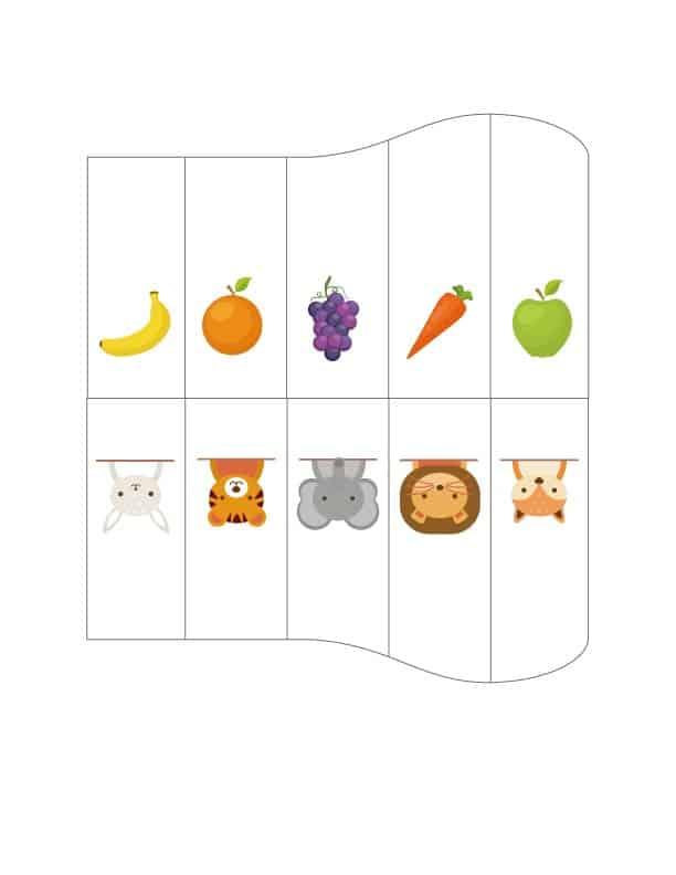 風琴牛奶盒主題圖卡- 02