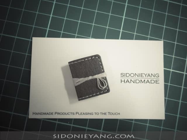 可水洗牛皮紙 手工迷你小書 Handmade Washable Kraft Paper Microbook