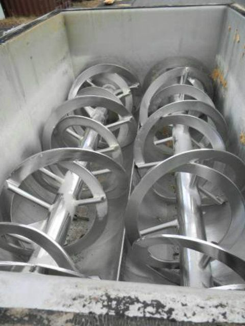 Used 40 Cubic Foot Stainless Steel Twin Ribbon Mixer