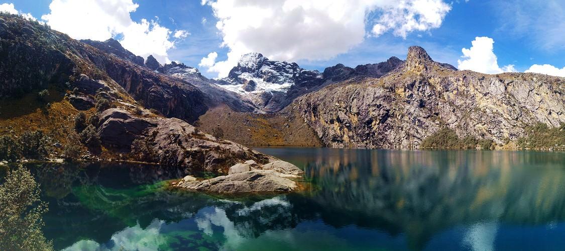 南美健行天堂─祕魯。瓦拉斯