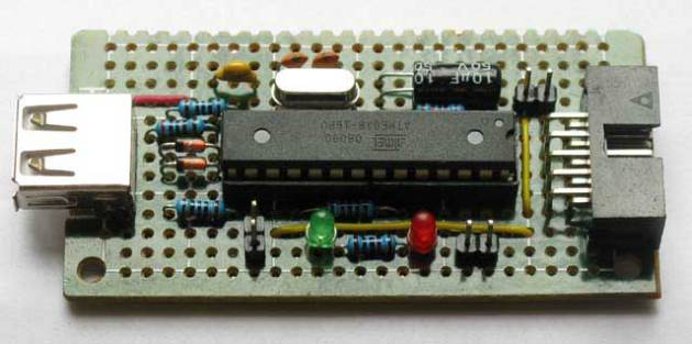 USB ISP – 免轉換,用真正的USB介面燒8051!