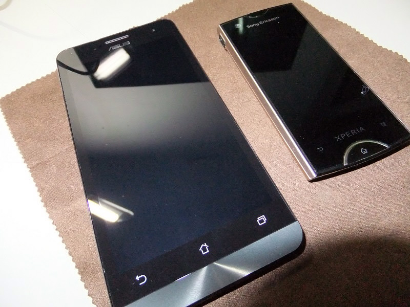 Zenfone 5 and Xperia Ray