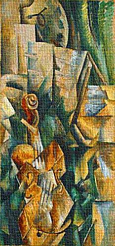法国立体画派大师乔治·布拉克(Georges Braque)(10) - 设计之家
