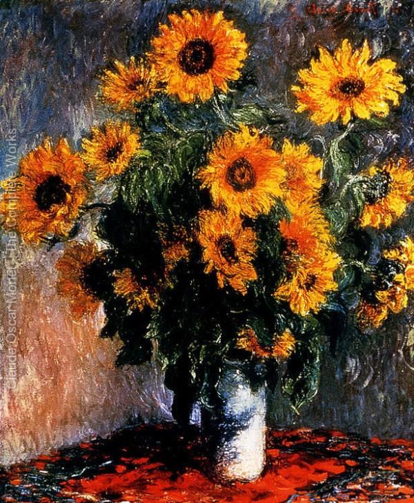 法國印象派畫家莫奈(Oscar Claude Monet)作品欣賞(2) - 设计之家