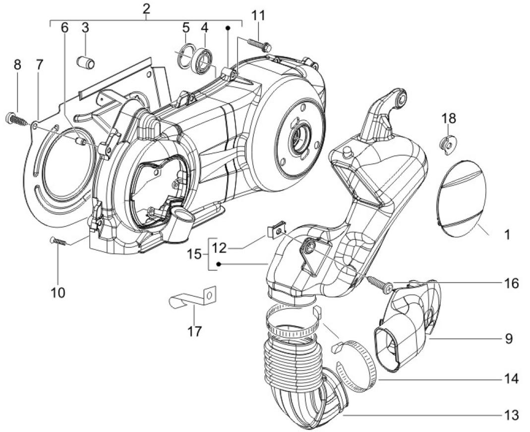50cc Scooter Diagram