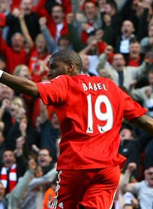 Ryan Babel Liverpool Anfield Manchester United