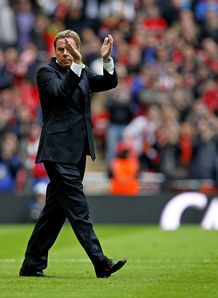 Harry Redknapp Manchester United Tottenham Hotspur Carling League Cup Final