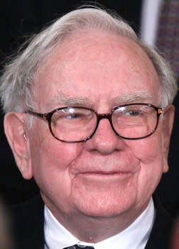 Warren Buffett. Click image to expand.