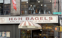 H&H Bagels. Click image to expand.