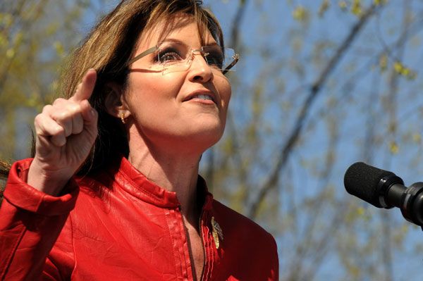 Sarah Palin advocates for a Theocracy