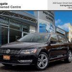 Pre Owned 2015 Volkswagen Passat Highline 2 0 Tdi 6sp Dsg At W Tip In Mississauga 6692