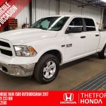 Thetford Honda Pre Owned 2017 Ram 1500 Outdoorsman 4x4 Crew Cab 5 7 Hemi For Sale In Thetford Mines