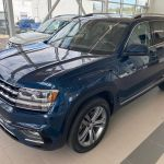 Used 2019 Volkswagen Atlas Execline Tourmaline Blue Metallic 20 000 Km For Sale 46995 0 Volkswagen Victoriaville U429