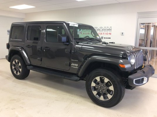 New 2018 Jeep Wrangler Unlimited Sahara For Sale In Laurier Station