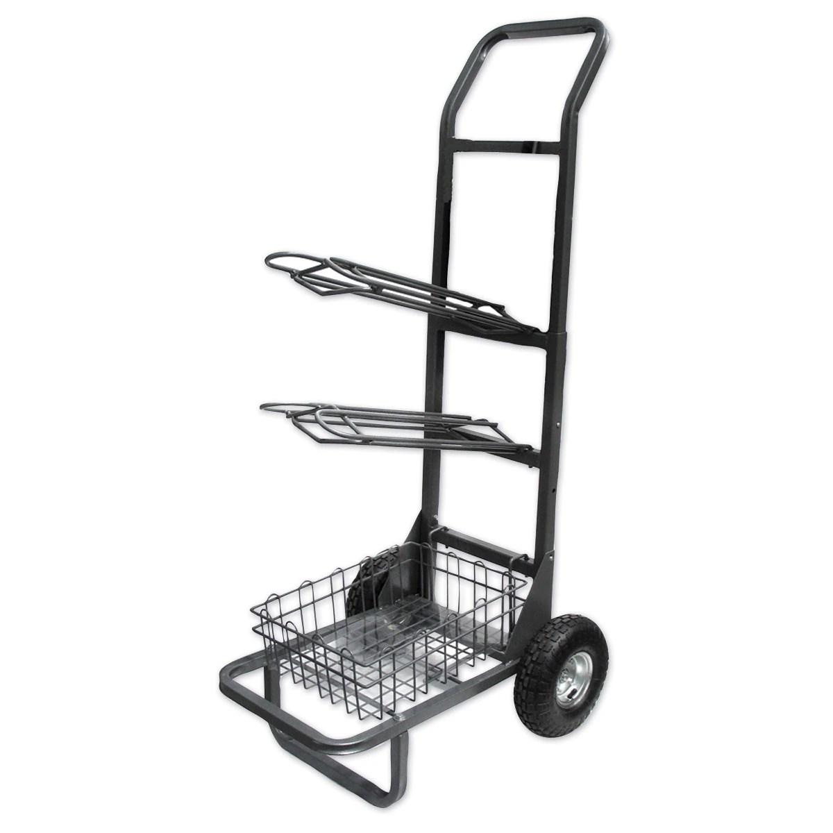 Two Wheel Saddle Rack Cart