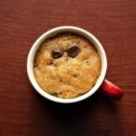 Eggless Chocolate Cookie In A Mug Recipe Food Com