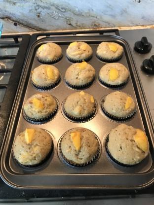 Peach Muffins Recipe Genius Kitchen