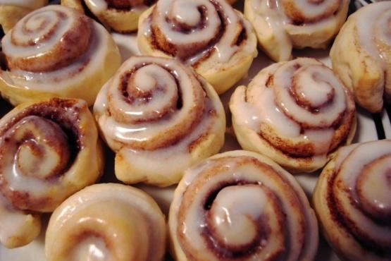 Image result for mini cinnamon rolls