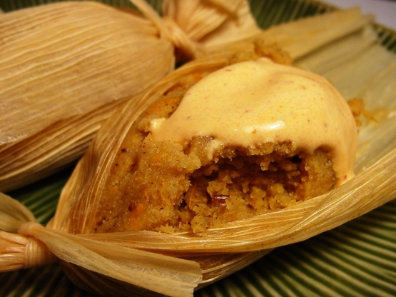 Sweet Tamales With Yams And Pecans Recipe Genius Kitchen