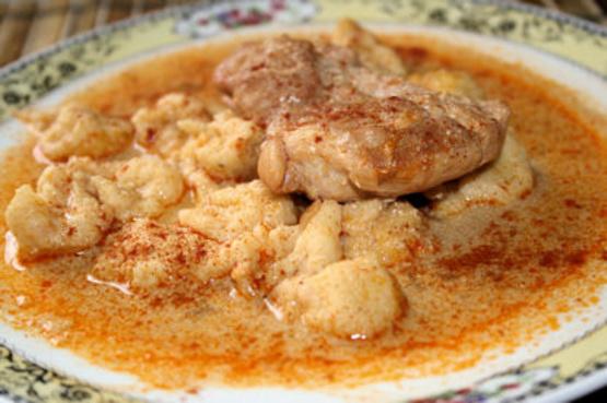 Image result for chicken paprikash
