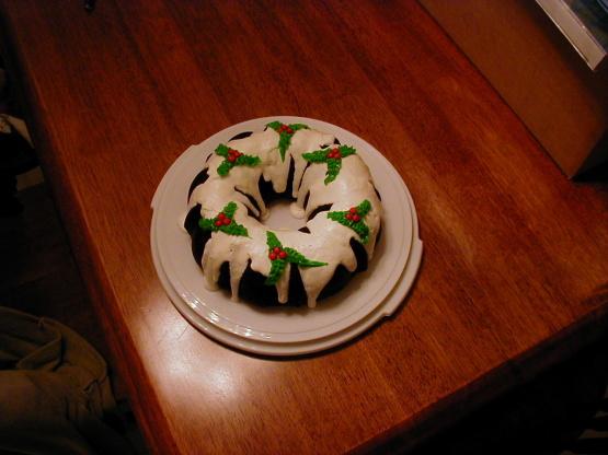 Easy Christmas Holly Bundt Cake Recipe Genius Kitchen