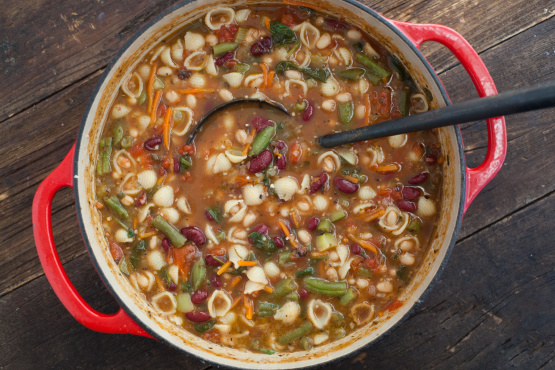 Image result for Minestrone Soup
