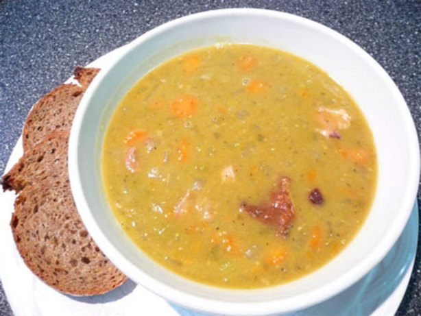 Vintage Recipes with Split Pea Soup and Bread Betty Crocker Recipe