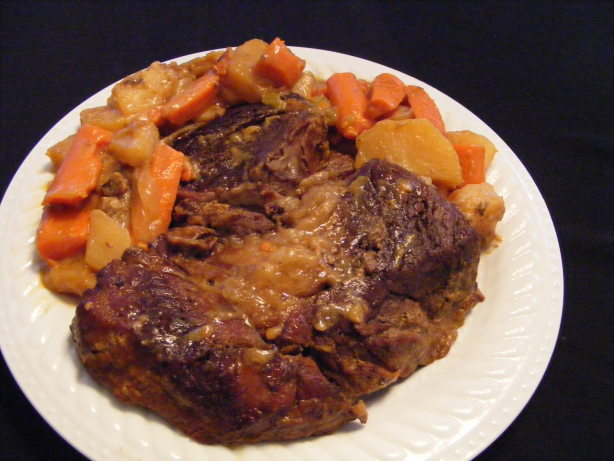 Image Result For How To Cook A Roast In A Crock Pot