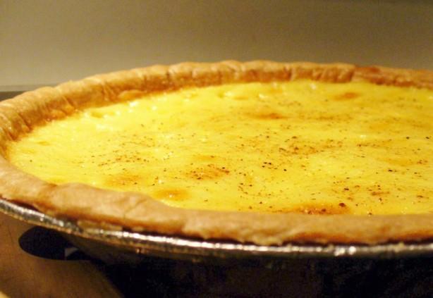 Egg Custard Pie Recipe - Food.com