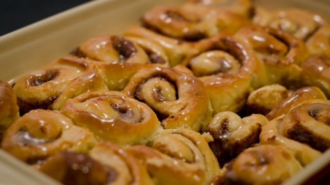 Vermont: Maple Cinnamon Rolls