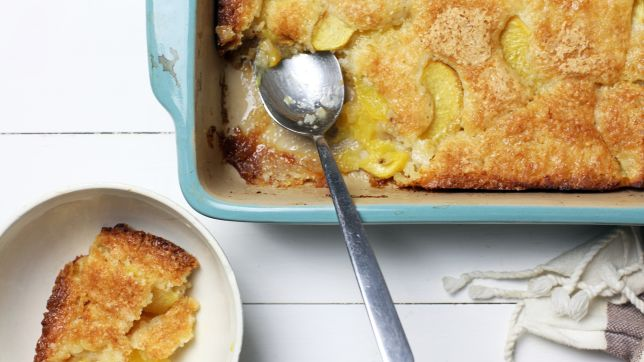 Georgia: Peach Cobbler