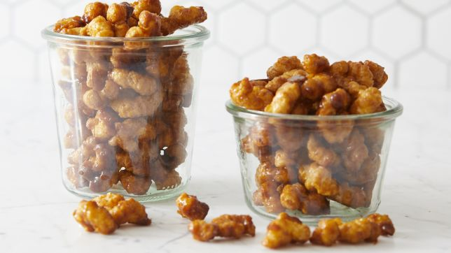 Kansas: Caramel Puff Corn