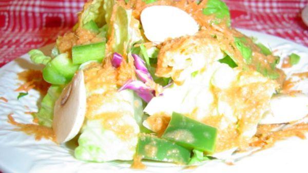 makoto honey ginger salad dressing