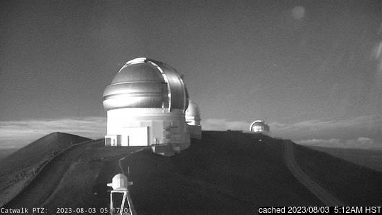 Live Snow webcam for Mauna Kea