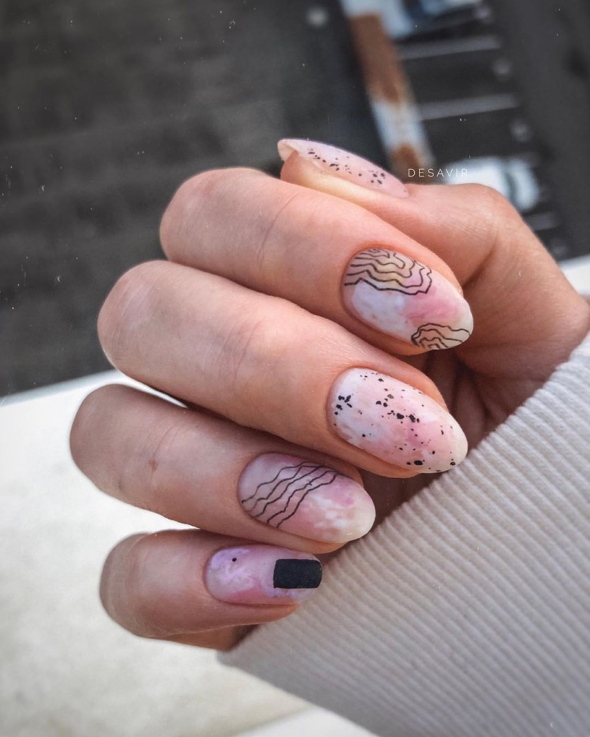 Looking for a chic nail art designs ideas? We have 100 matte nails ideas to show you. And if you want get more inspiration, check out our nail art board. #MatteNails #NailDesigns #NailArt #NailIdeas