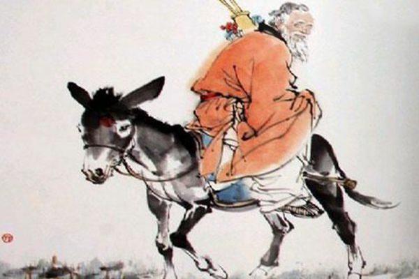 張果老為甚麼倒騎驢?   八仙   張果老 倒騎驢   神話傳說   希望之聲