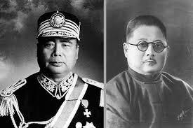 左:冯玉祥;右:吉鸿昌 (网络图片)