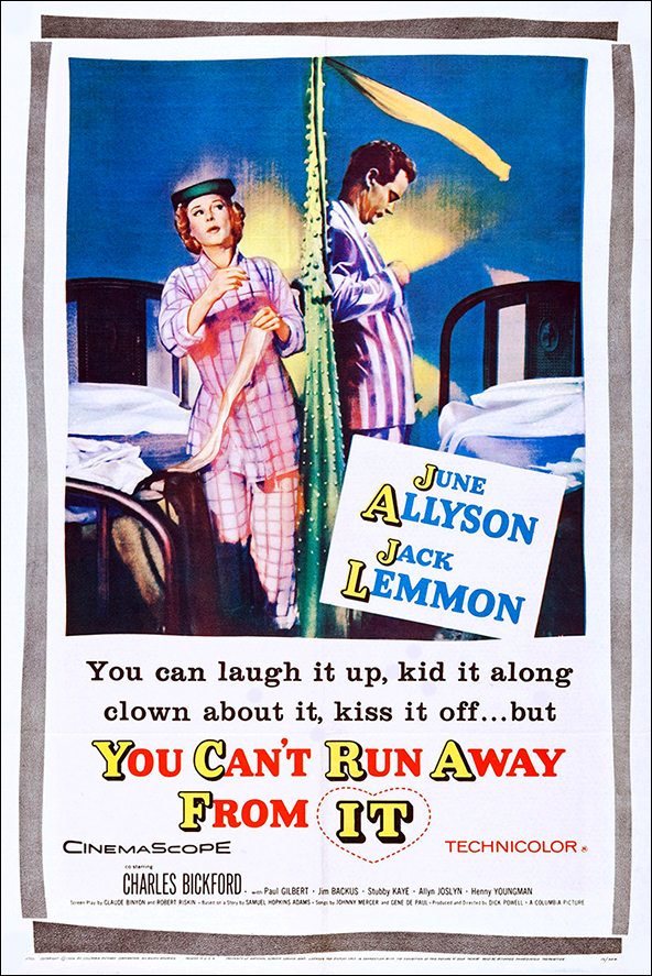 Image result for You Can't Run Away From It 1956