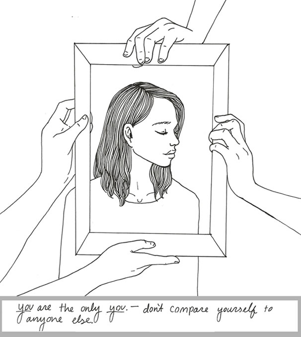 Image result for self love drawings