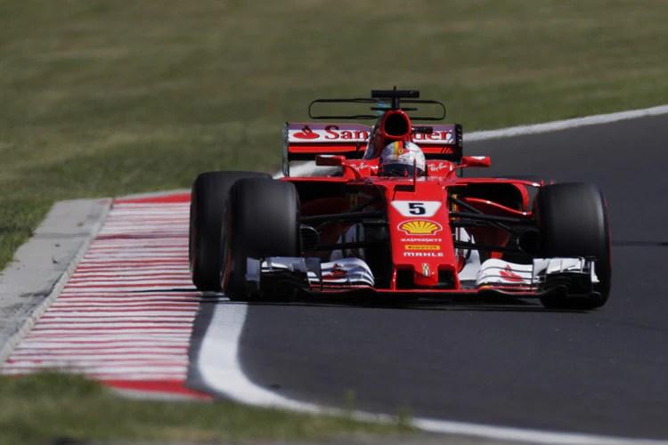 Sebastian Vettel Mein Ferrari Lief FantastischFormel