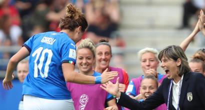 Mundo Mujeres, Jamaica-Italia 0-5: Italia en la segunda ronda