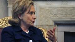La secrétaire d'État Hillary Clinton