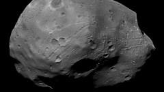 Phobos, la plus grande lune de Mars