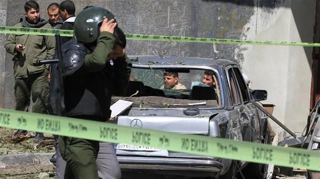 Explosions à Damas