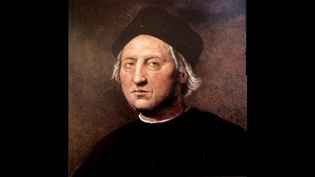Portrait posthume de Christophe Colomb peint par Ridolfo Ghirlandaio