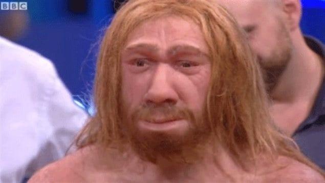 La plus récente reconstitution d'un homme de Néandertal